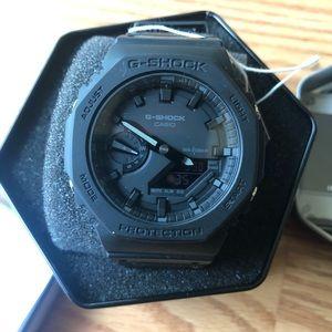 """Casio G-Shock GA2100-1A1 """"CasiOak"""" Men Watch Black"""